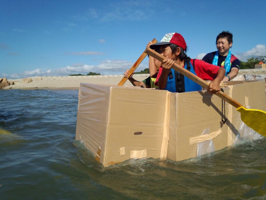青少年育成事業 ~絆つながるサマーキャンプ2012 i n 犬島
